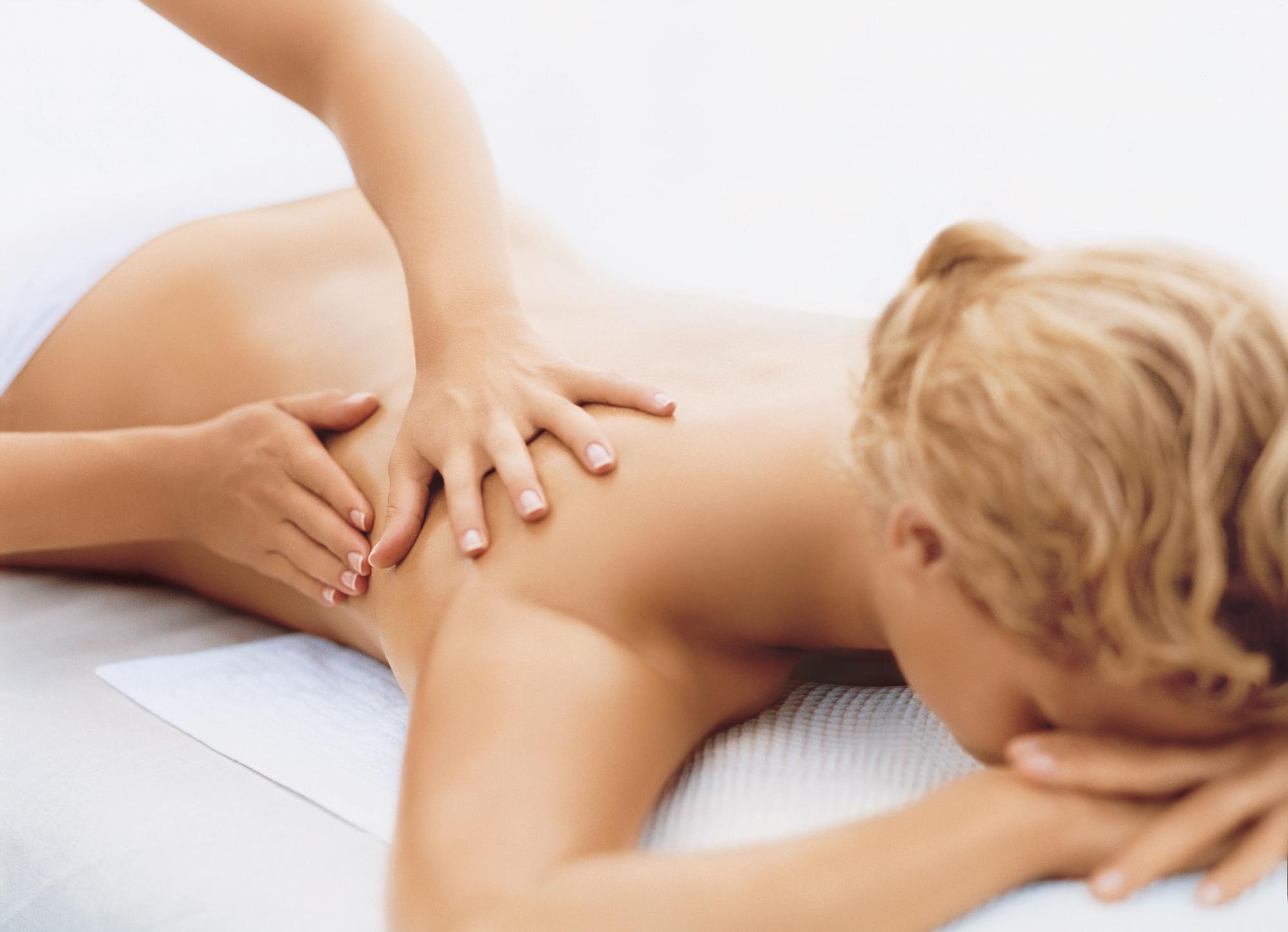 Massage met de Kerst